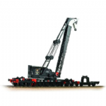 38-802  Bachmann  Ransomes & Rapier 45T Steam Breakdown Crane   BR Black (Early Emblem)